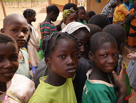 Jeunes burkinabés