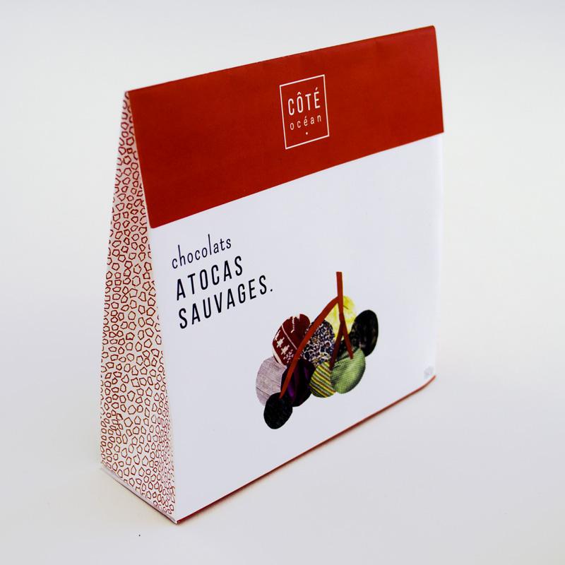 Sac des chocolats aux atocas sauvages