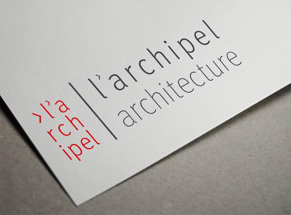 Logo l'Archipel architecture